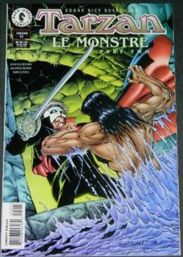 Tarzan Le Monstre #121997 Cover