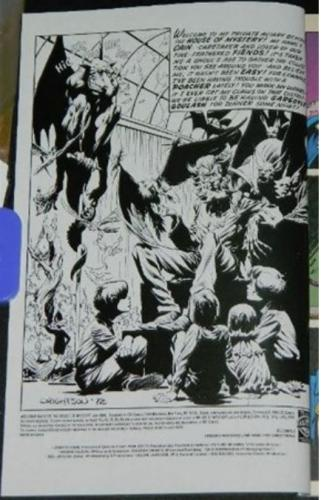 Welcome Back to the House of Mystery #1Inside cover