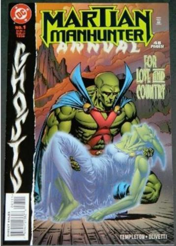 Martian Manhunter Annual #110/98 Cover