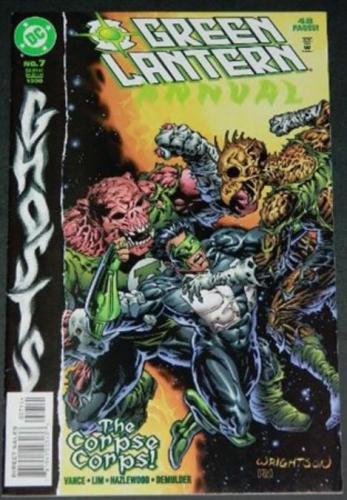 Green Lantern Annual #711/98 Cover