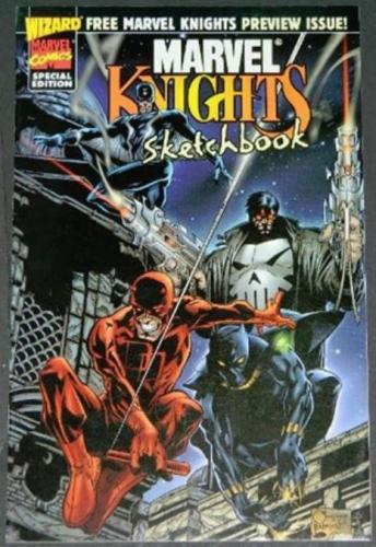 Marvel Knights Sketchbook1998 Art for Punisher
