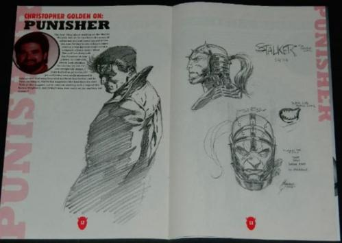 Marvel Knights SketchbookArt for Punisher