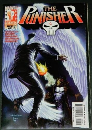 "Punisher Vol.2 #212/98 Cover w/ Jusko, ""The Mark of Cain"""