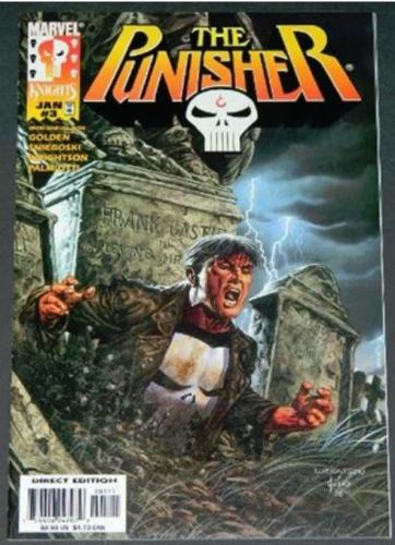 "Punisher Vol.2 #31/99 Cover w/ Jusko, ""A Gathering of Angels"""