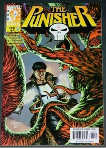 """Punisher Vol.2 #42/99 Cover w/ Jusko, """"The Hour of Judgement"""""""