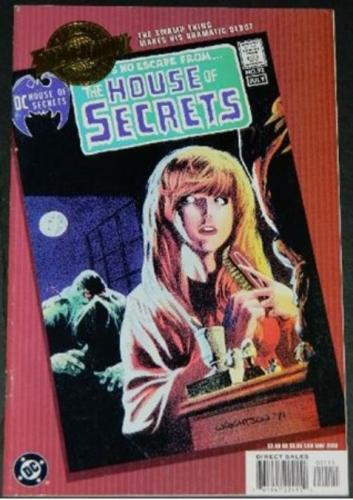 Millenium Edition House of Secrets #925/2000