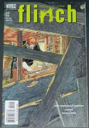 "Flinch #149/2000 ""Resolve"" w/ inks by Tim Bradstreet"