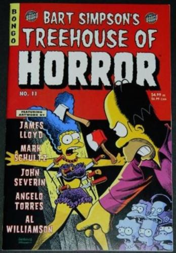 Simpson's Treehouse of Horrors #11Flip cover
