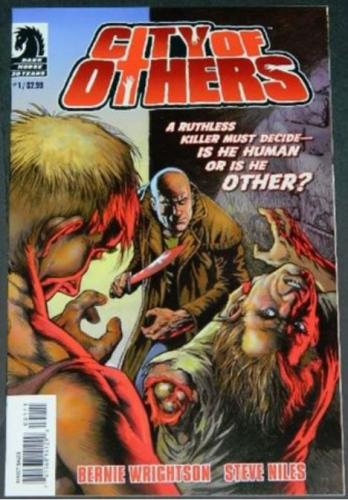 City of Others #12/07 Cover. art