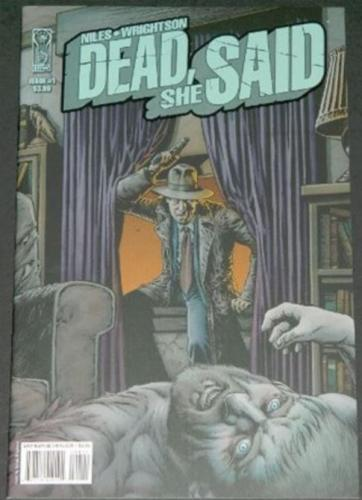 Dead She Said #15/08 Cover, art