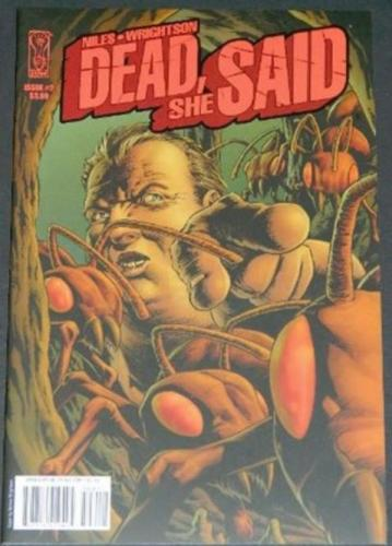 Dead She Said #27/08 Cover, art