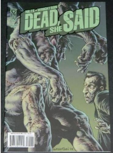 Dead She Said #39/08 Cover, art