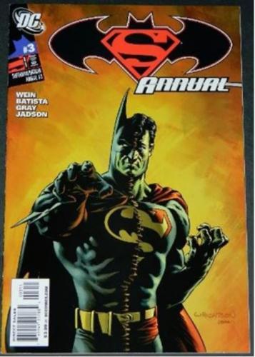 Superman Batman Annual #33/09 Cover