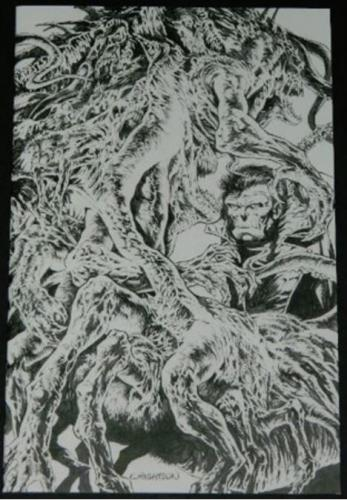 The Ghoul #3 R.I.3/10 Retail Incentive Cover, Art