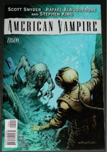 American Vampire #26/10 Variant Cover