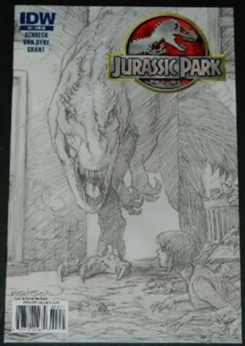 Jurassic Park #49/10 Retail Incentive Cover