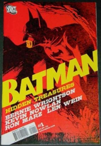 "Batman Hidden Treasures #112/10 ""Splash"" 20 illustrations, centerfold, Swamp Thing #7"