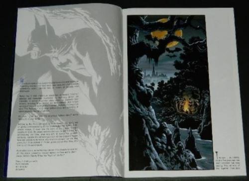 "Batman Hidden Treasures #1""Splash"" 20 illustrations"