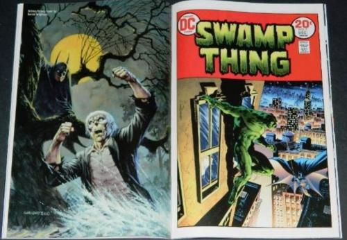 Batman Hidden Treasures #1Pin up, Swamp Thing #7