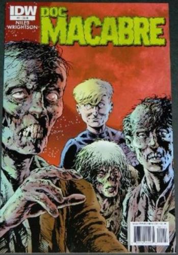 Doc Macabre #112/10 Cover, art