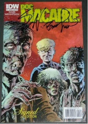 Doc Macabre #1Signed edition