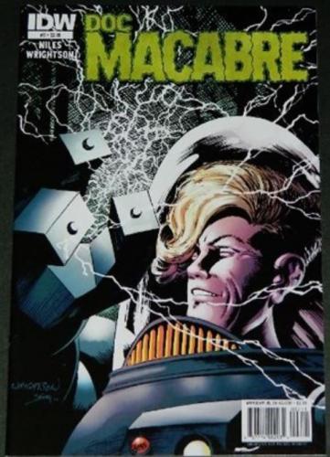 Doc Macabre #21/11 Cover, art