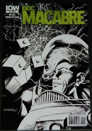 Doc Macabre #21/11 Retail Incentive Cover, art
