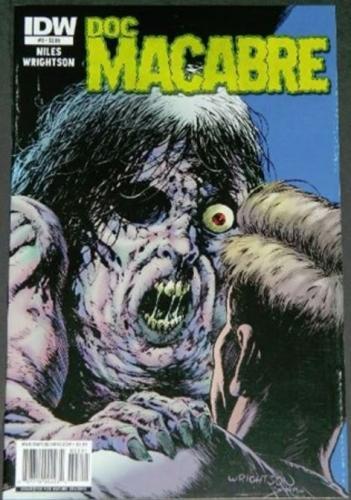 Doc Macabre #32/11 Cover, art