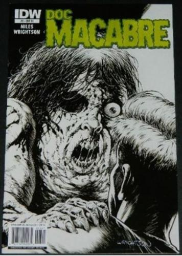 Doc Macabre #32/11 Retail Incentive Cover, art