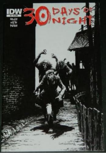 30 Days of Night #211/11 Retail Incentive cover