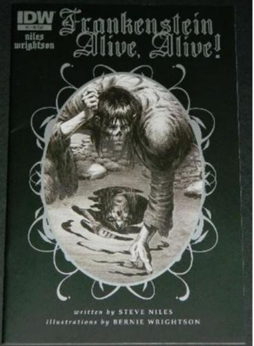 Frankenstein Alive,Alive #15/12 Retail Incentive Cover, art