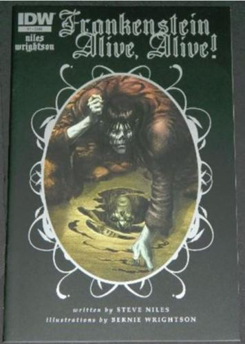 Frankenstein Alive,Alive #15/12 Cover, art 1st print