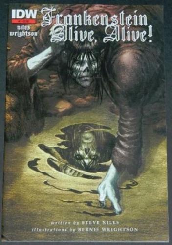 Frankenstein Alive,Alive #15/12 Cover, art, 2nd. print