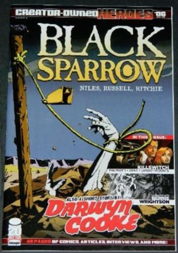 Black Sparrow Cover A11/12 Interview by Steve Niles