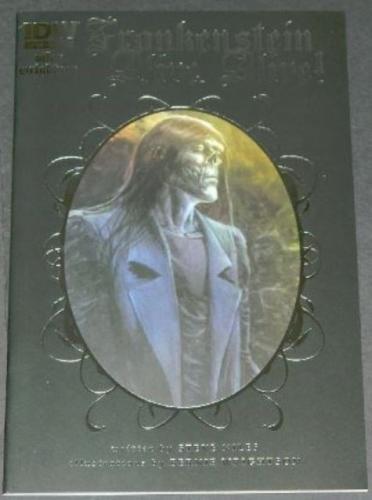 Frankenstein Alive,Alive #34/14 Cover, art