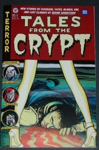 "Tales From the Crypt Vol. 3 #22017 ""Stake Out"", ""Feed It"" color"
