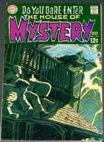 "House of Mystery #1794/69 ""The Man Who Murdered Himself"""