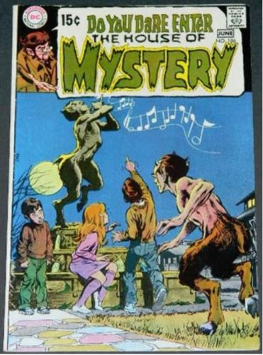 "House of Mystery #1866/70 ""Secret of the Egyptian Cat"""