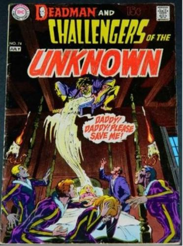 """Challengers of the Unknown #747/70 """"Dark As Death"""""""