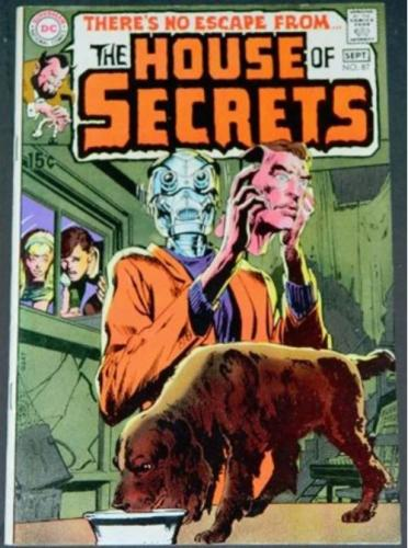 """House of Secrets #879/70 """"The Coming of Ghaglan"""" pencils"""