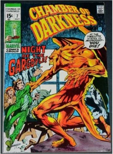 "Chamber of Darkness #710/70 Cover, ""Gargoyle Every Night"""