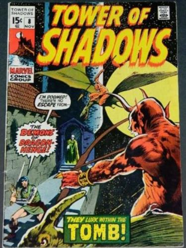Tower of Shadows #811/70 Cover