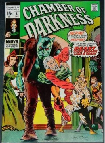 Chamber of Darkness #812/70 Cover