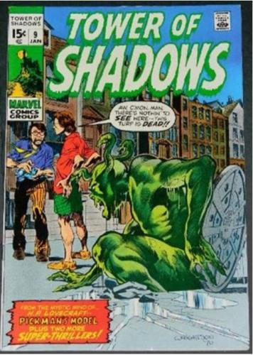 Tower of Shadows #91/71 Cover