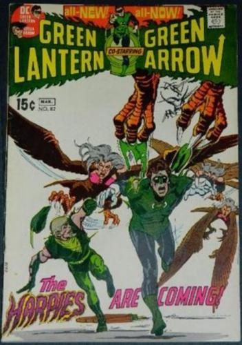 Green Lantern #823/71 1pg. inks on Neal Adams