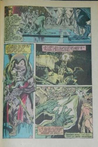 Green Lantern #821pg. inks on Neal Adams