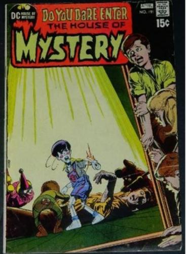 "House of Mystery #1914/71 ""Night Prowler"""