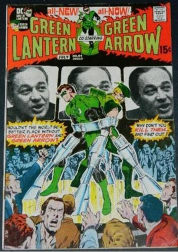 "Green Lantern #847/71 ""Peril in Plastic"" inks on Neal Adams"