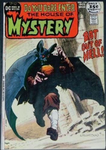 "House of Mystery #19510/71 Cover, ""Things Old, Things Forgotten"""