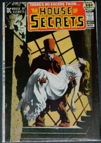 House of Secrets #9411/71 Cover, A Bottle of Incense... A Whiff of the Past""